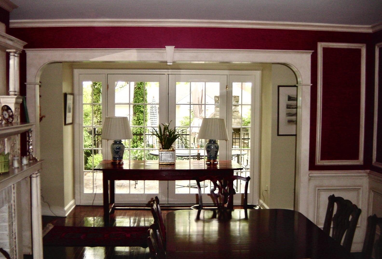 Greenwich CT Interior Design Dining Room