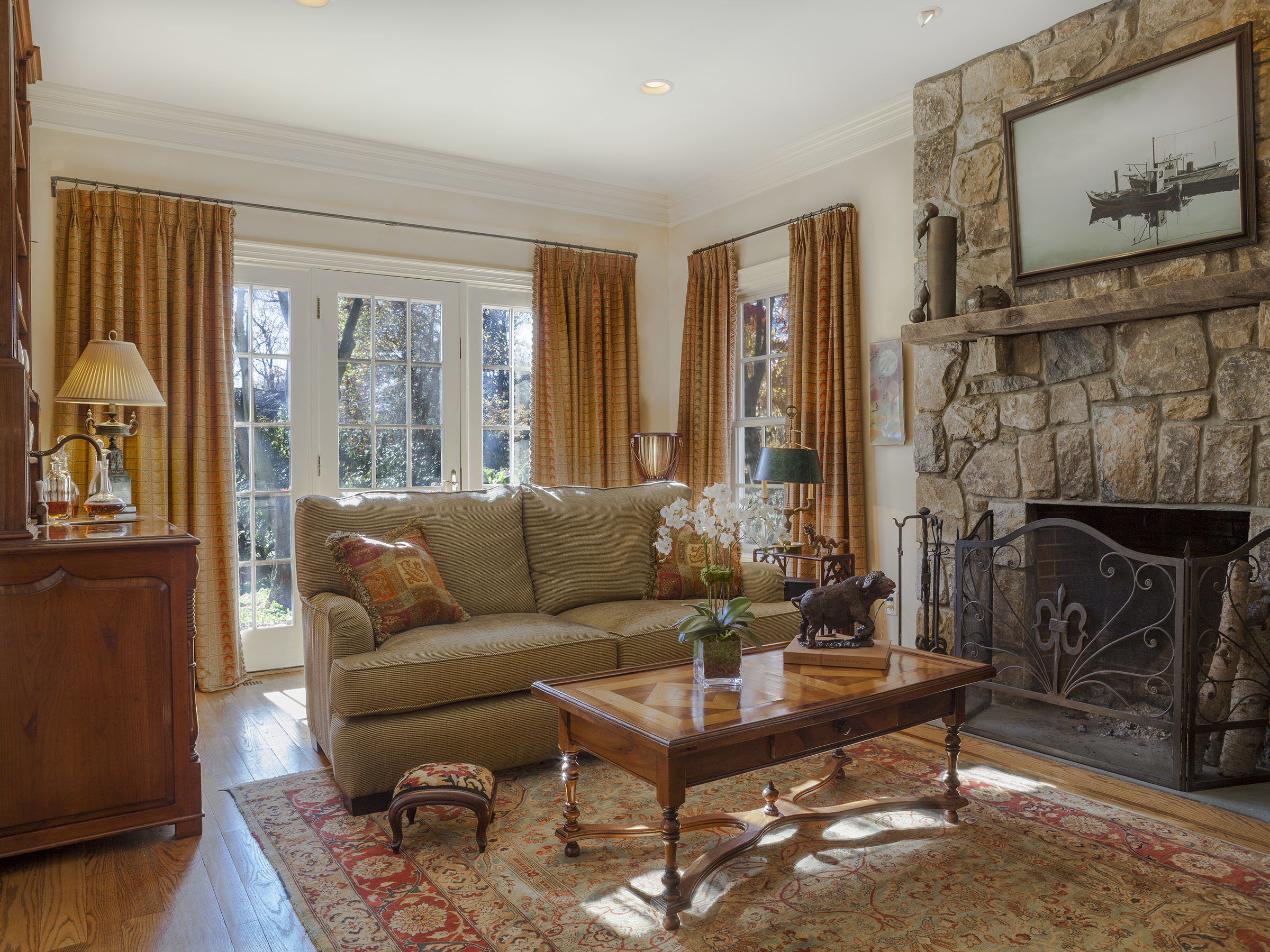 Interior Design for Living Room in Greenwich CT